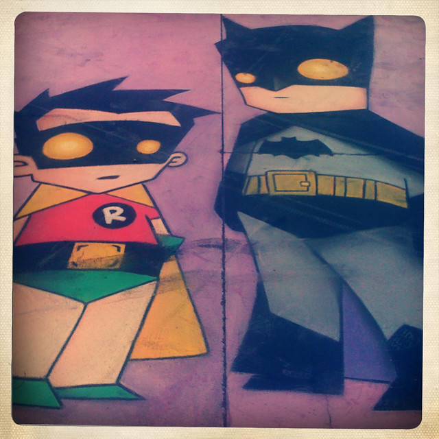 robin & batman
