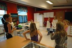 4H økologisk matskole i Råde uke 26 - 2011