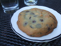 Chocolate chip and Marcona almond cookie