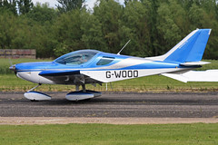 G-WOOO (QSY on-route) Tags: club aero lincon sturgate egcs gwooo 04062011