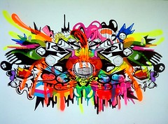 Prozak (PROZAK7) Tags: art graffiti arte prozak skate skateboard gravura