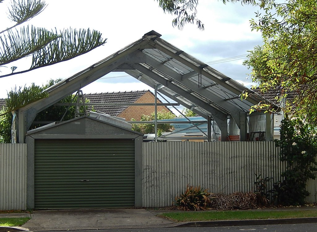 Carports With Metal Fencing : The world s best photos of carport and metal flickr hive