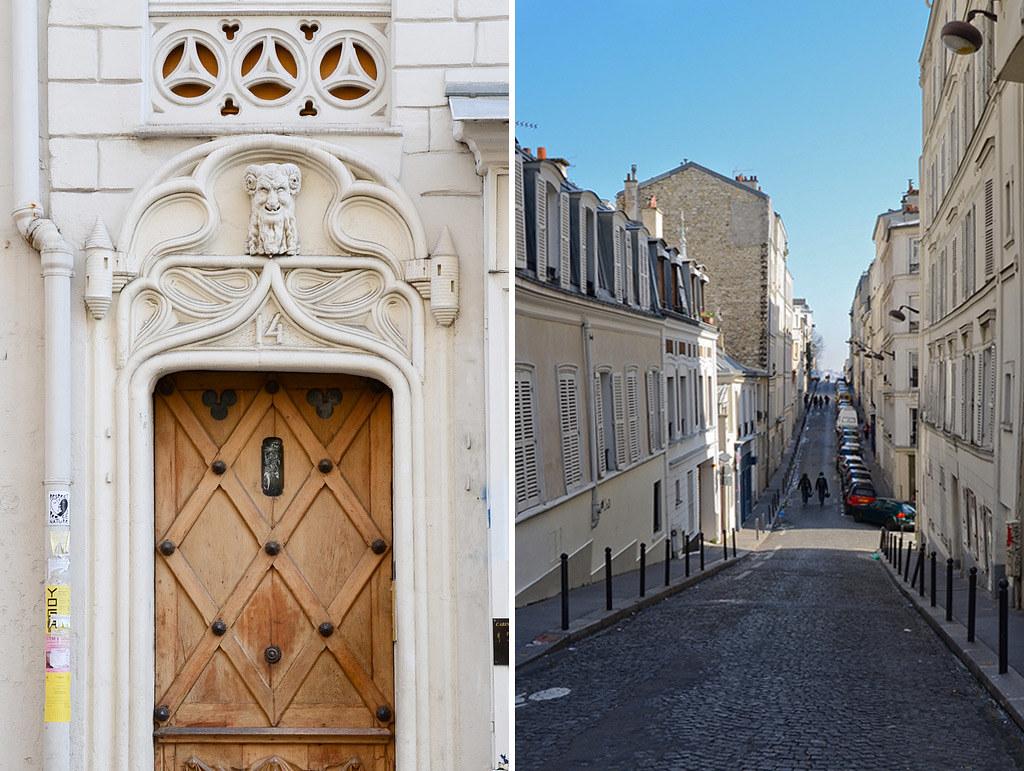 Porte Rue Garreau - Rue des Trois-frères