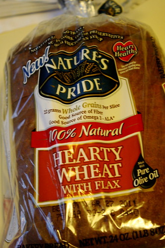 Nature's Pride Hearty Wheat with flax