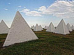Pyramania (Kaptain Kobold) Tags: sea white project concrete coast lyrics song wwii australia nsw pyramids defences myfave heritagepark alanparsons portkembla kaptainkobold yourfave pyramania