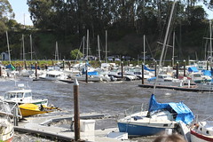 Santa Cruz Tsunami 3-11-11 1924a- Linda Azevedo Photography (azevedophotos) Tags: ocean california santa sea water japan docks boats harbor waves yacht piers tsunami upper cruz damage sinking