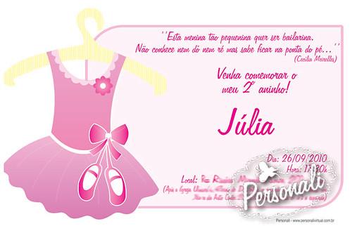 Bailarina Júlia by personalidesign
