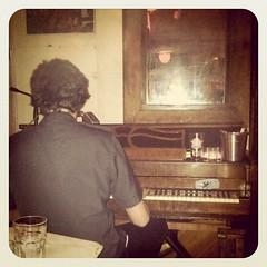 Joaquin plays piano