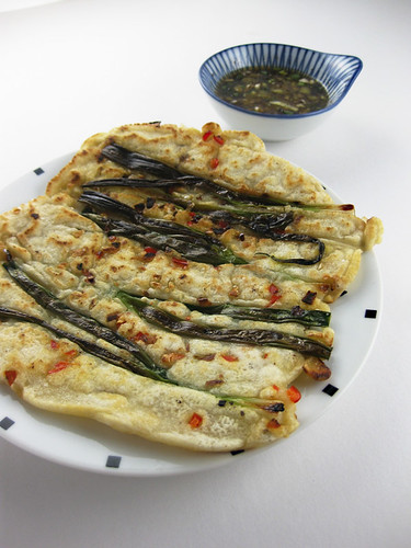 Green Onion Pancakes - P'ajon