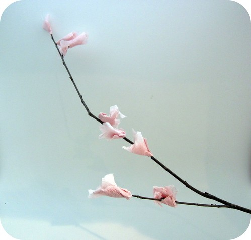 DIY Cherry Blossom Craft 2