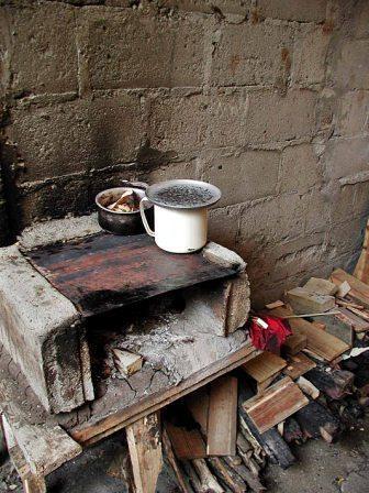 Makeshift oven