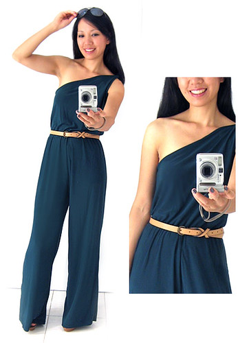 Lilies of eField - Teal Jumpsuit