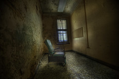 ThE NoboDy ChAir ::   ( explore ) (andre govia.) Tags: house building abandoned strange buildings insane woods closed decay ghost down best andre haunted creepy explore horror ghosts mad sanatorium asylum ue urbex sanitarium asylums criminally sanatoriums govia exploreing