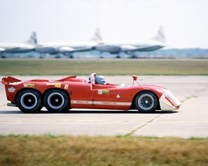 Never Before Seen Six-wheel Alfa Project - April 1,1970