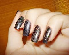 Metal Glam + Na mira (futilidadesdemenina) Tags: glitter 3d hand nail fingers impala nailpolish unha namida esmalte metalglam