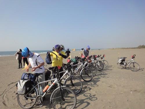 圖1.2011單車環台「生態福傳佈道師培訓」。(蔡智豪 攝)