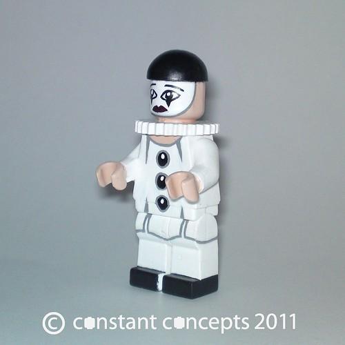 Custom minifig Pierrot custom minifig