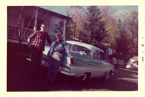 Dad, Granddad and a Car