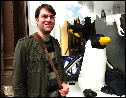 Dave and penguin