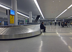 American Airlines Terminal - JFK (UrbanphotoZ) Tags: nyc newyorkcity ny newyork empty terminal jfk queens lonely americanairlines desolate aa baggageclaim kennedyairport