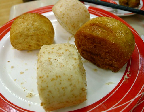 Steam&fried mantou