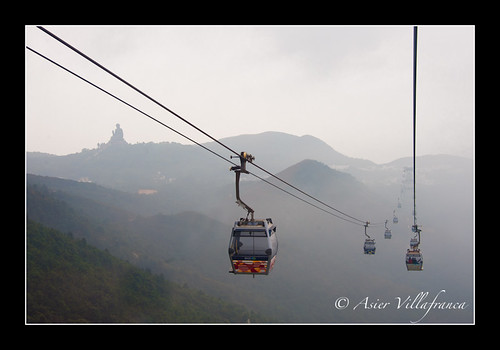 Tian Tan Buddha #1 - Ngong Ping gondolas | Flickr - Photo Sharing!