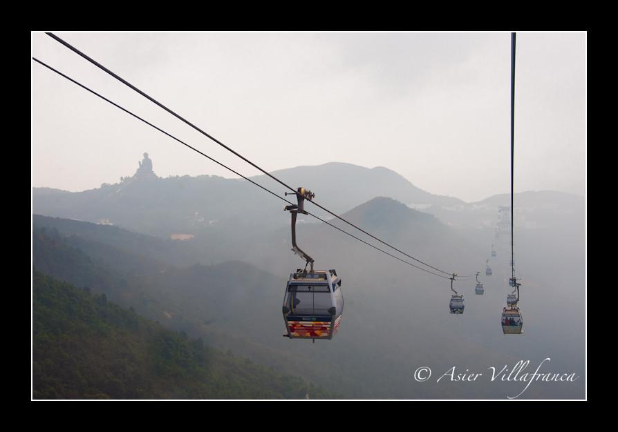 Tian Tan Buddha #1 - Ngong Ping gondolas
