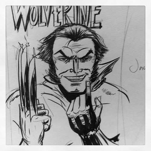 Jack Nicholson as Wolverine.