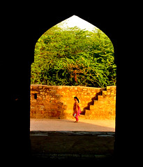walker #2 (parth joshi) Tags: dawn cycling child squirrell muses desolate mehrauli monumentsindelhi bhattimines adamkhanstomb