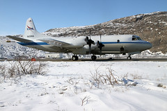 P-3 on the Ramp in Kangerlussuaq (NASA Goddard Photo and Video) Tags: ice nasa greenland seaice icebridge goddardspaceflightcenter