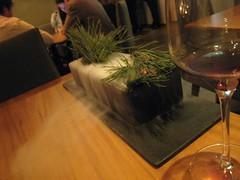 Olive Oil Meringue Presentation