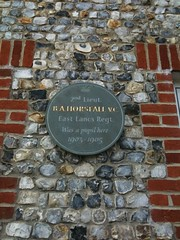 Photo of Basil Arthur Horsfall grey plaque