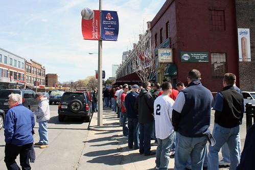 Noon at the Baseball Tavern