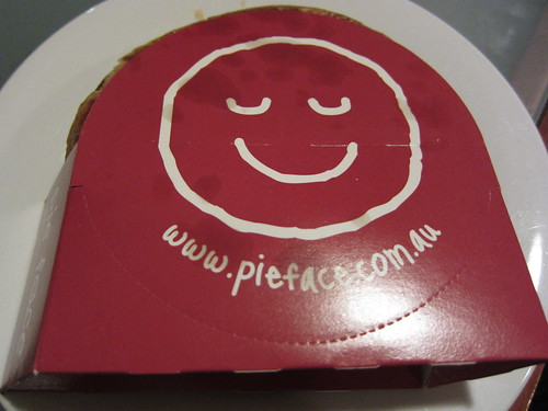 Pieface for dinner