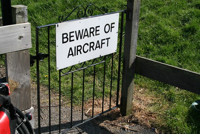 Beware of aircraft