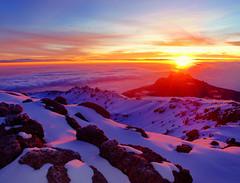 Sunrise at Summit of Kilimanjaro (Lust,