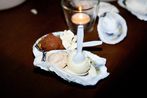 The Bent Spoon's 4 scoops oyster-centric ice cream