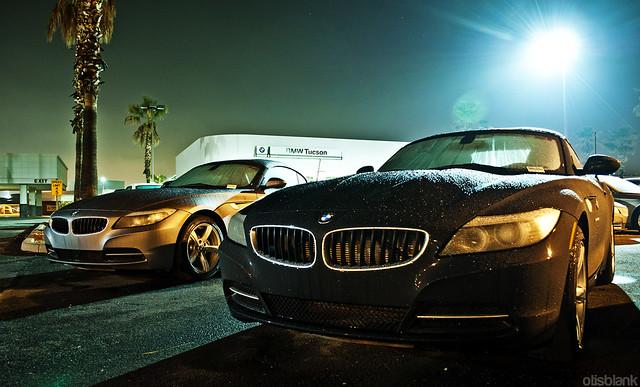 fog night tucson foggy bmw z4 dealership 2011 otisblank