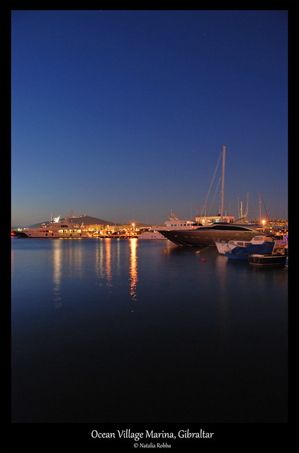 Ocean Village Marina - Blue hour