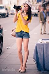 First Model Shoot! (Tomodo89) Tags: street portrait london zeiss model sony hill 85mm cz alpha notting a700 a580 sal8514z
