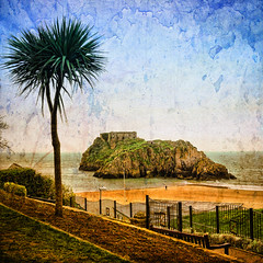 St Catherine's Island .. Tenby ... Wales (Nick Kenrick.) Tags: ocean travel sea castle beach wales island bay sand pembrokeshire tenby stcatherinesrock catterns zedzap