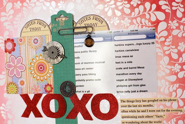 XOXO closeup