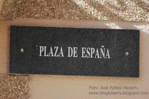 Placas - Plaza de España