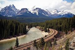Morant's Curve, Banff, Alberta 1 (Marcio Aoki) Tags: canada alberta banff rockymountains morantscurve