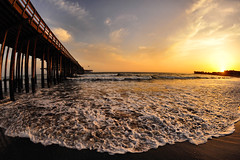 Ventura Beach, CA (The 2-Belo) Tags: california sunset beach pier scenery     venturacalifornia