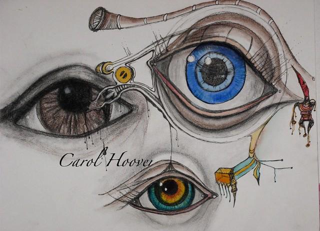 Eye study by carol 001
