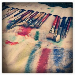 paint brushes (cavale) Tags: blue red 3 painterly green art colors yellow orlando colorful paint artist florida brush canvas messy painter brushes cloth bristles paintbrush paintbrushes iphone tejas iphoneography hipstamatic inas1969 picplz foursquare:venue=4b06eb49f964a5200df322e3
