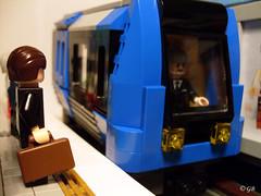 Hötorget - 26 (Lego.Skrytsson) Tags: subway lego metro stockholm creation minifigs realism metrostation hötorget tunnelbana realistic lightflesh