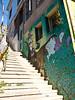 Graffiti in Subida Ecuador, Guillermo Rivera, Valparaíso, Chile (Kjetilei) Tags: chile graffiti valparaíso valpo chl temperamental subidaecuador charquipunk guillermorivera january2009