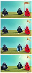 Dark side of the force -2- (storm TK431) Tags: golf starwars palpatine lego darthvader darkside deathstar lifeonthedeathstar